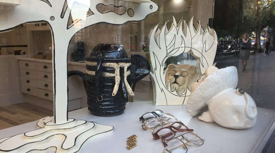 Binocles: safari window ceramic craft creations