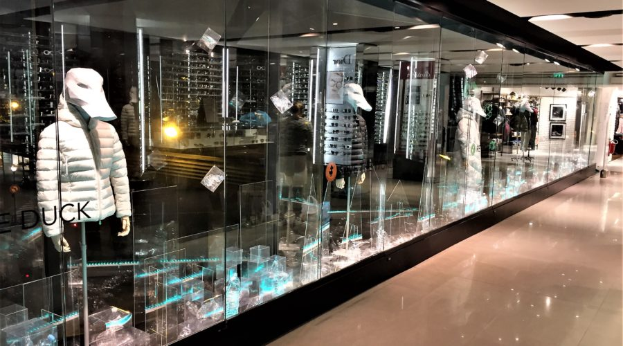 Windows - Save the Duck   Galeries Lafayette